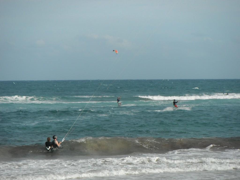 kaapverdie-kitesurfen-oefenen-beginner-vakantie