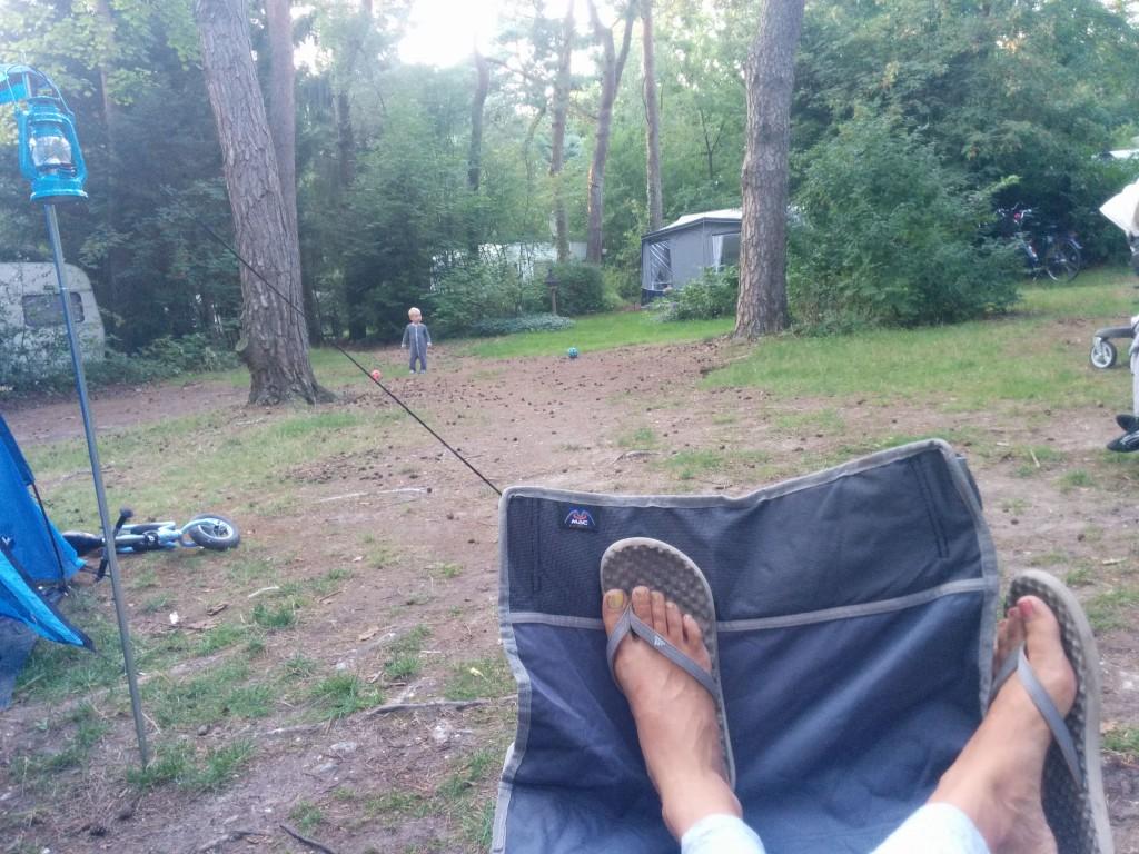 Kleine kinderen kamperen ervaring camping verslag verhaal