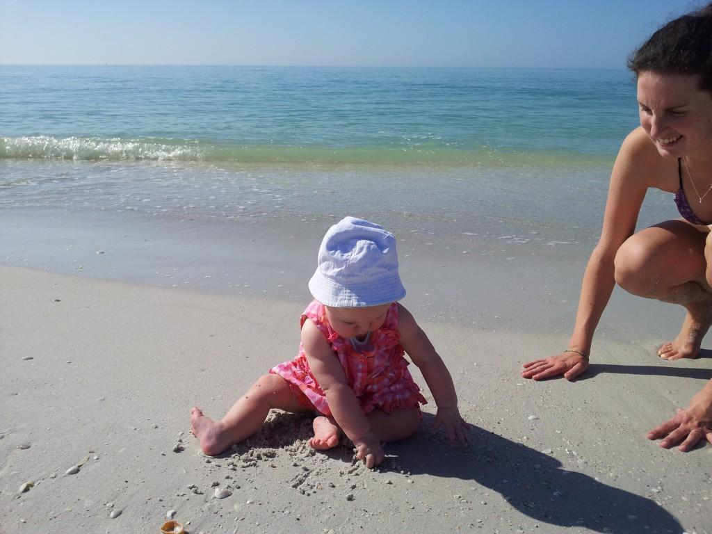 Florida met baby
