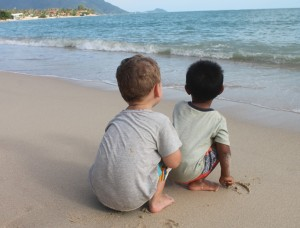 Reizen met kleine kinderen