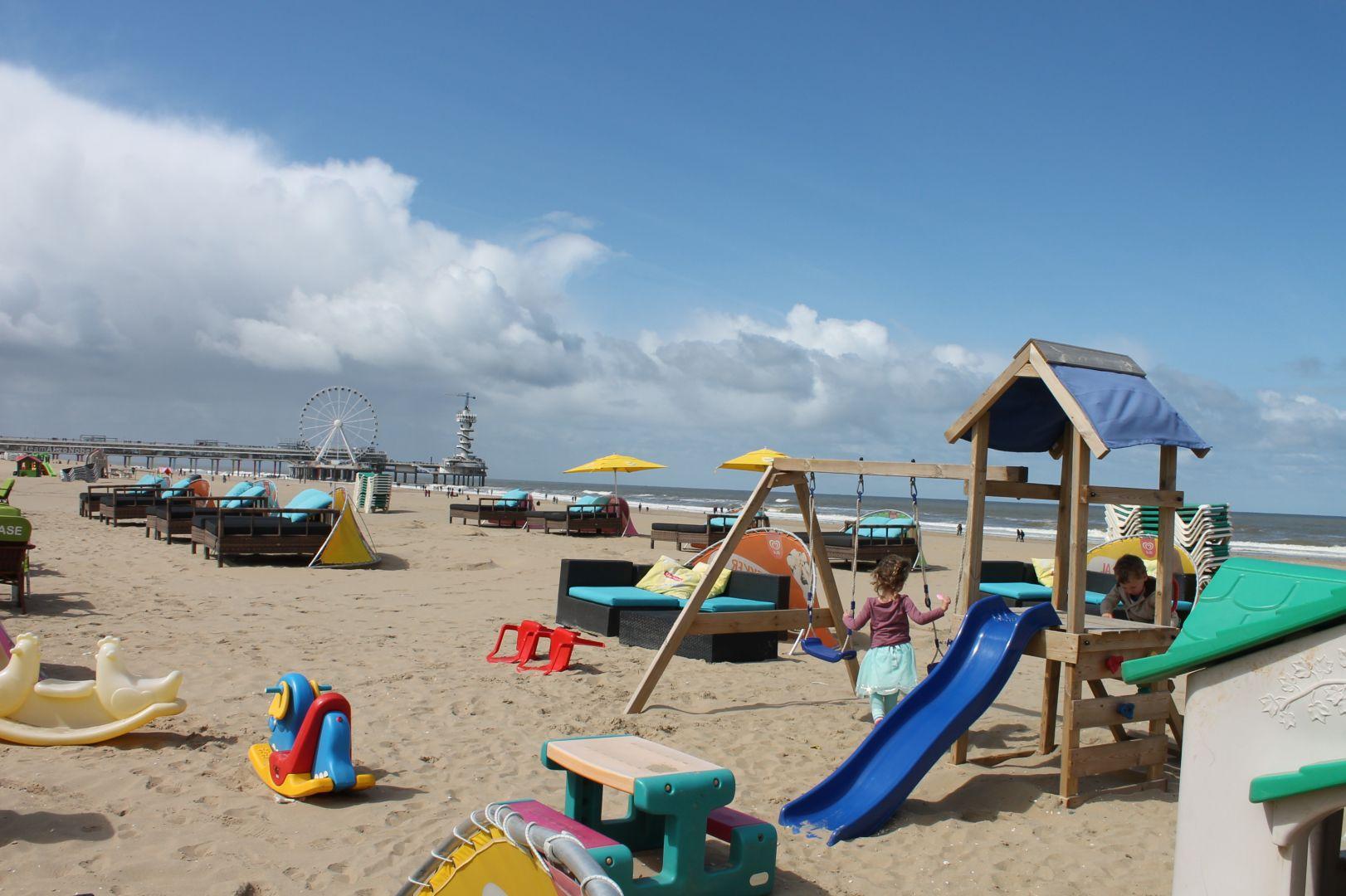 kindvriendelijke strandtent Scheveningen