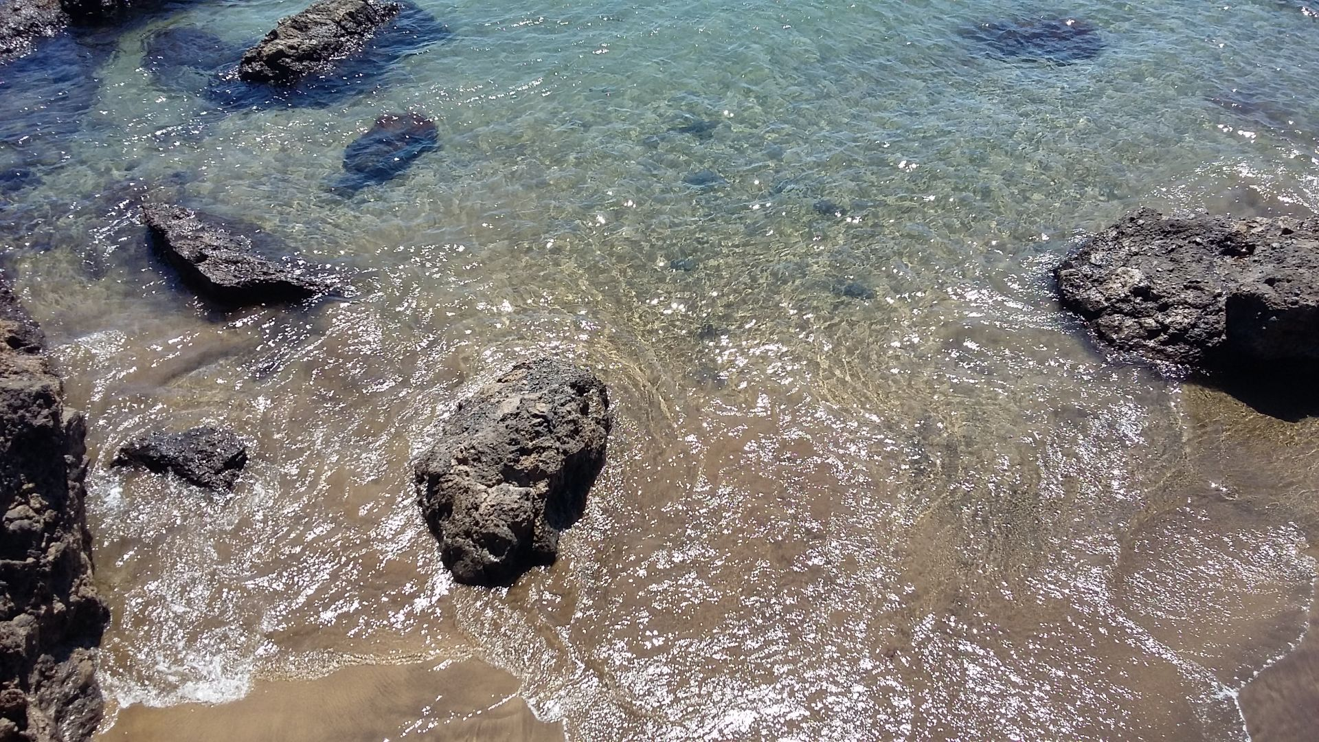 kleine baaitjes Lanzarote