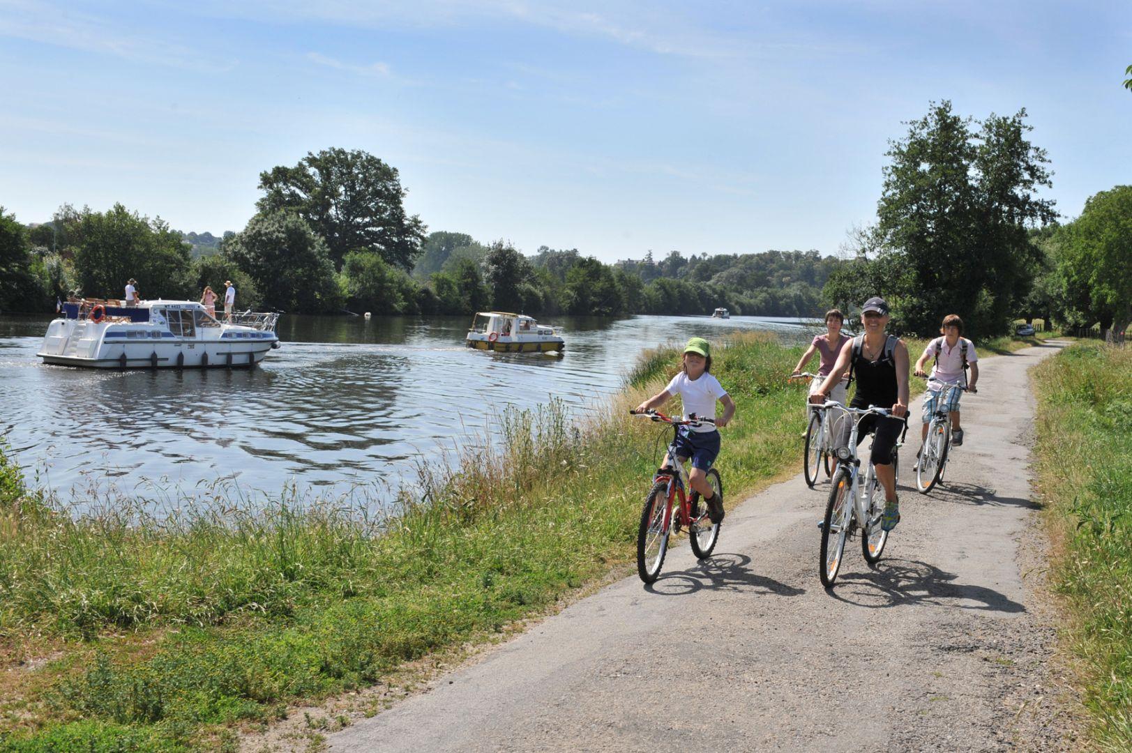 fietsen met kinderen in Frankrijk