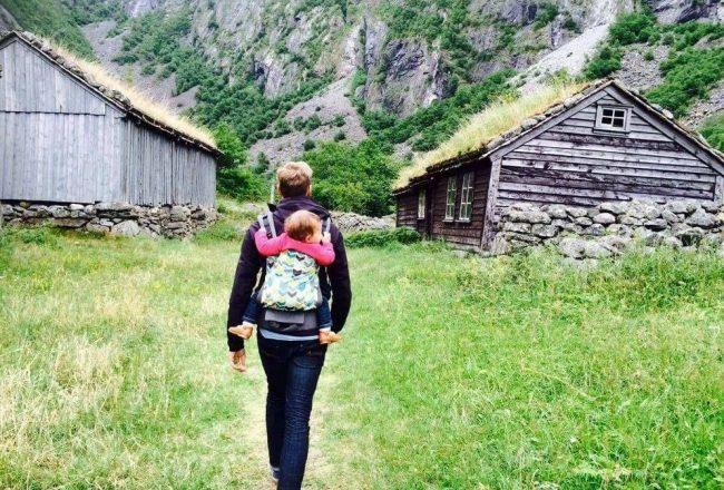Noorwegen met baby