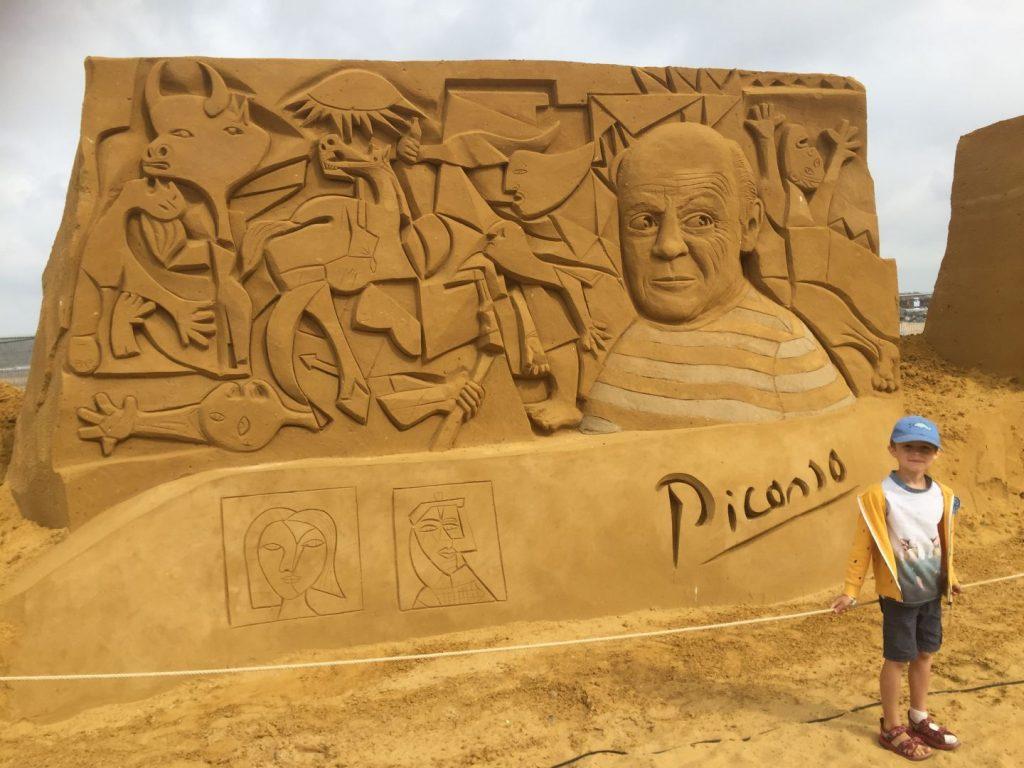 Zandsculpturenfestival Oostende
