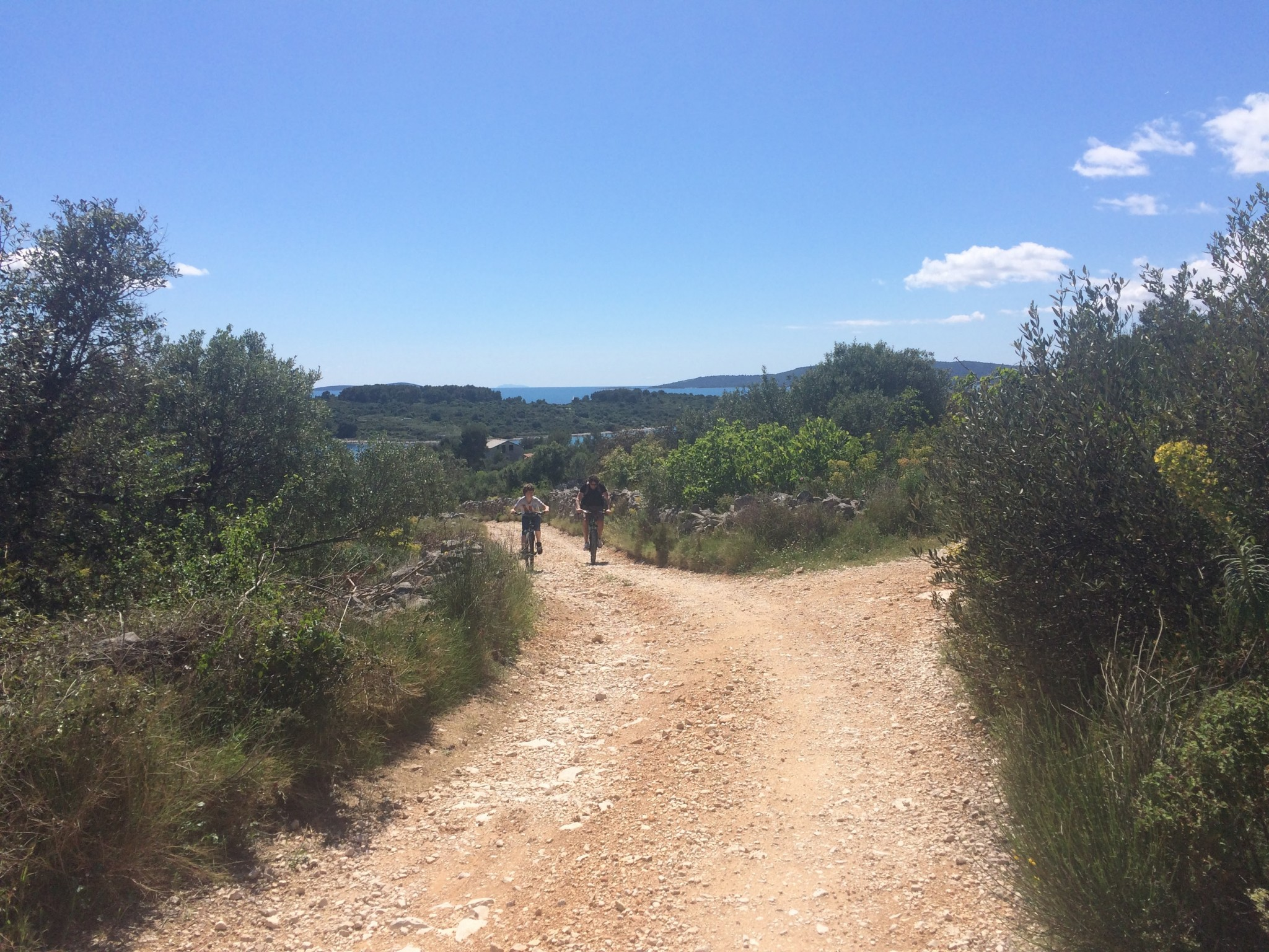 off road mountainbiken