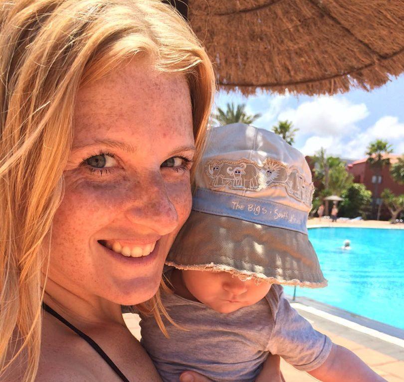 vakantie met een baby
