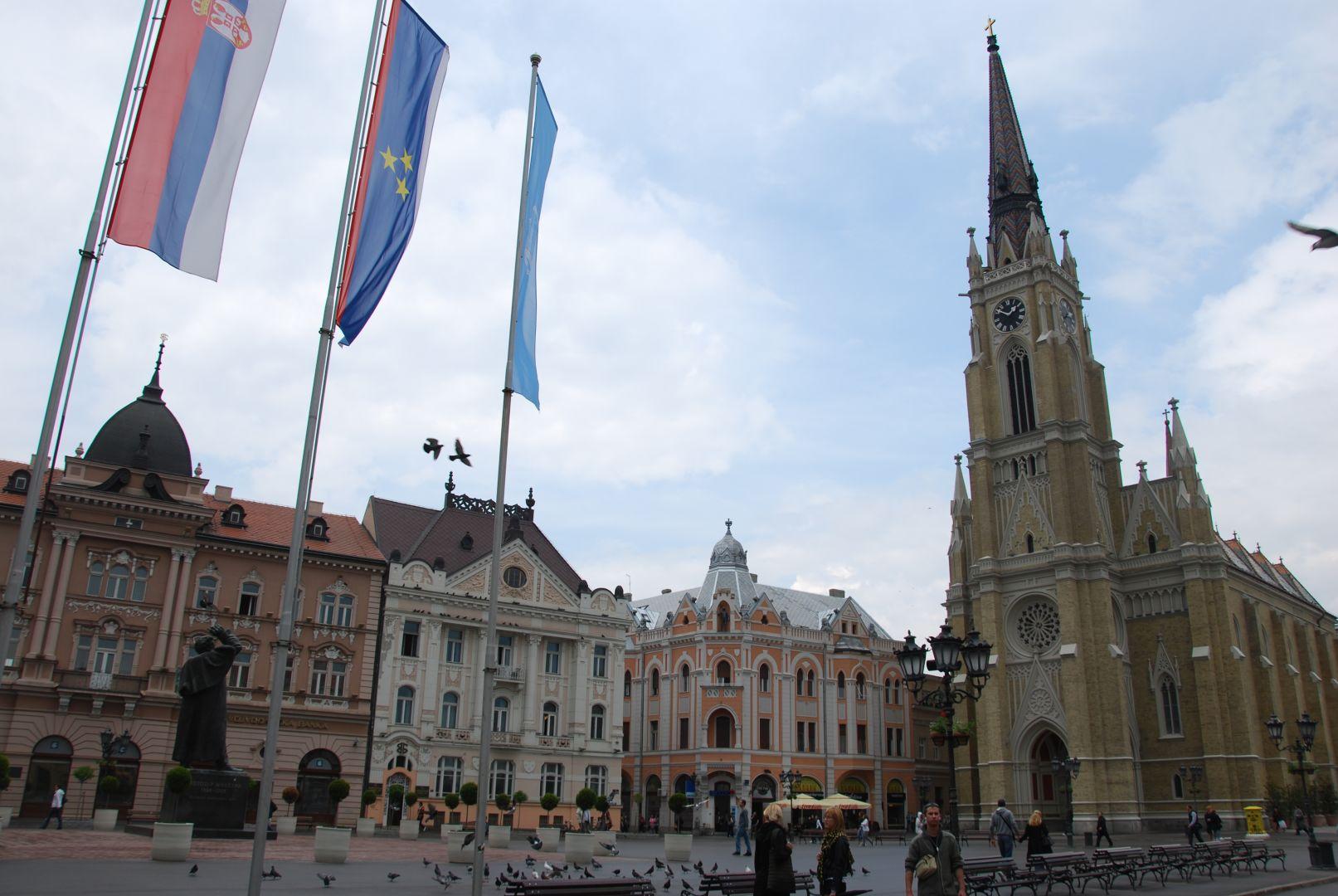 Novi Sad stedentrip