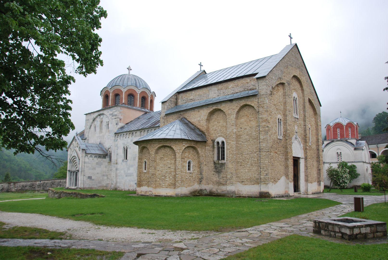 De kloosters van Ziča en Studenica bij Kraljevo