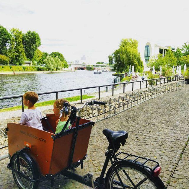 Dit was zon toffe ervaring op een bakfiets door Berlijnhellip