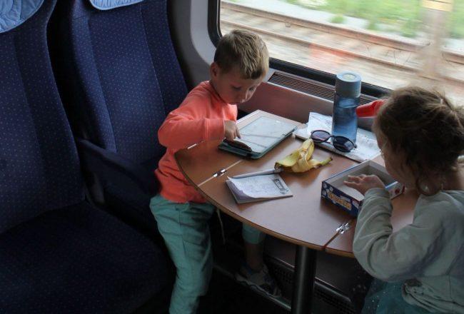 treinreizen met kinderen