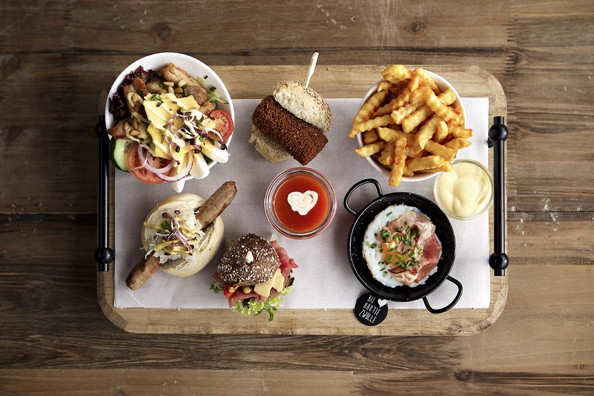 Bij Hartje Zwolle maaltijd