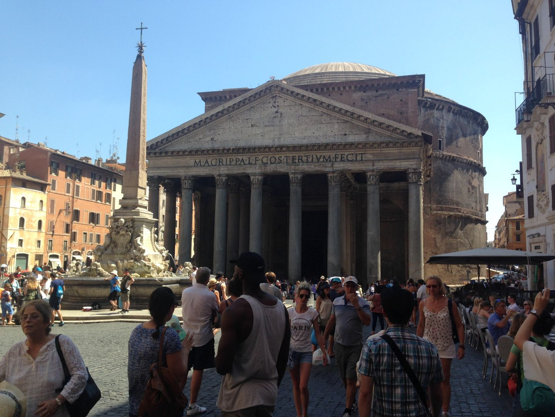 Rome met kind