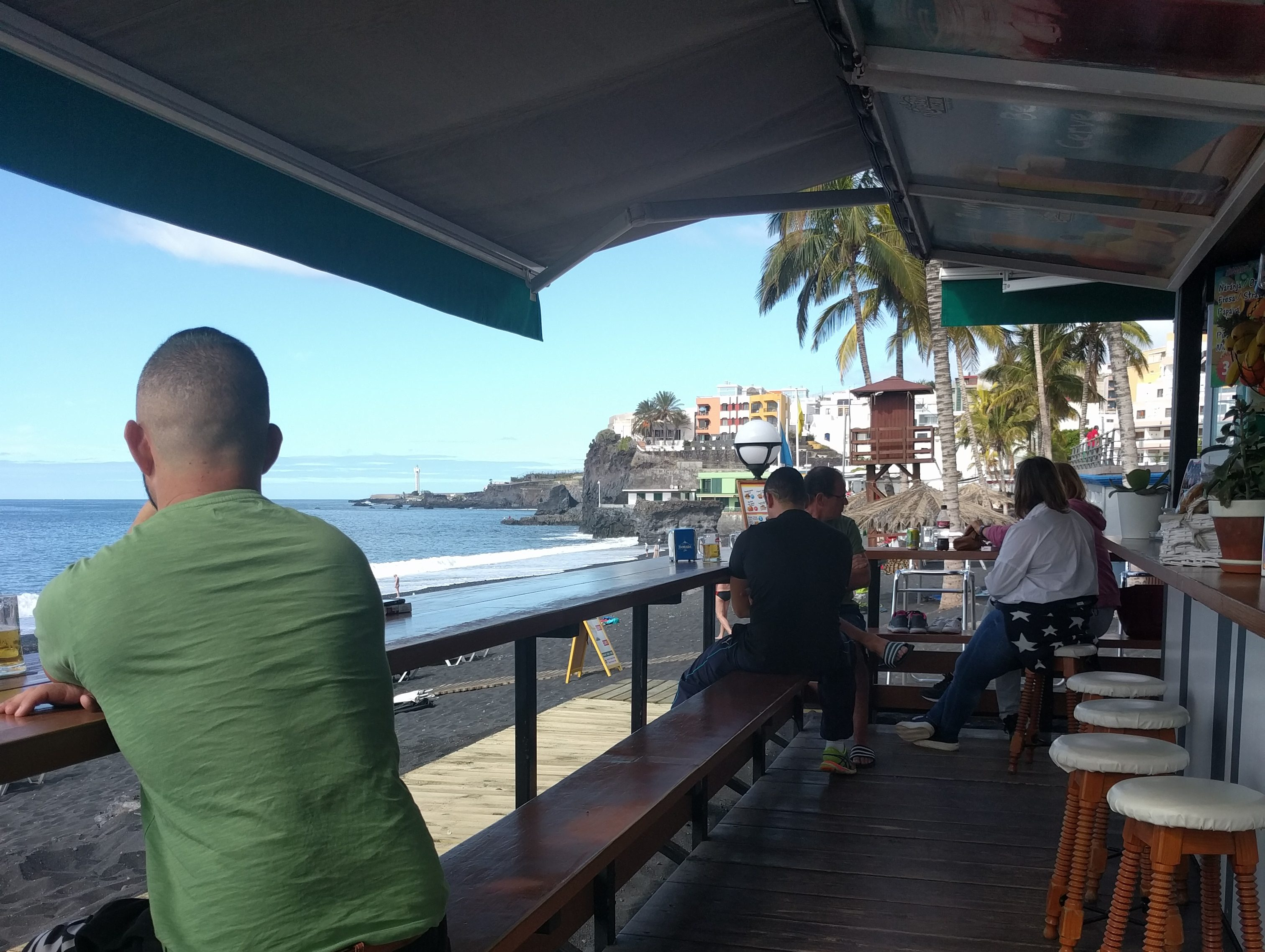 La Palma strandbar Puerto Naos