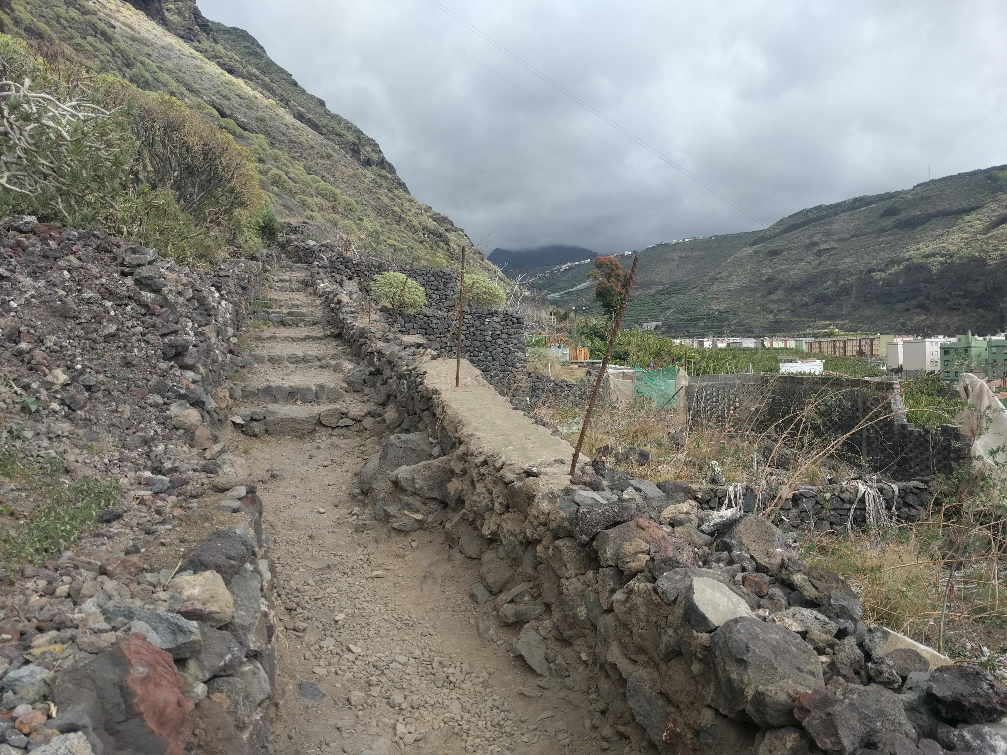 Wandelen bij Tazacorte