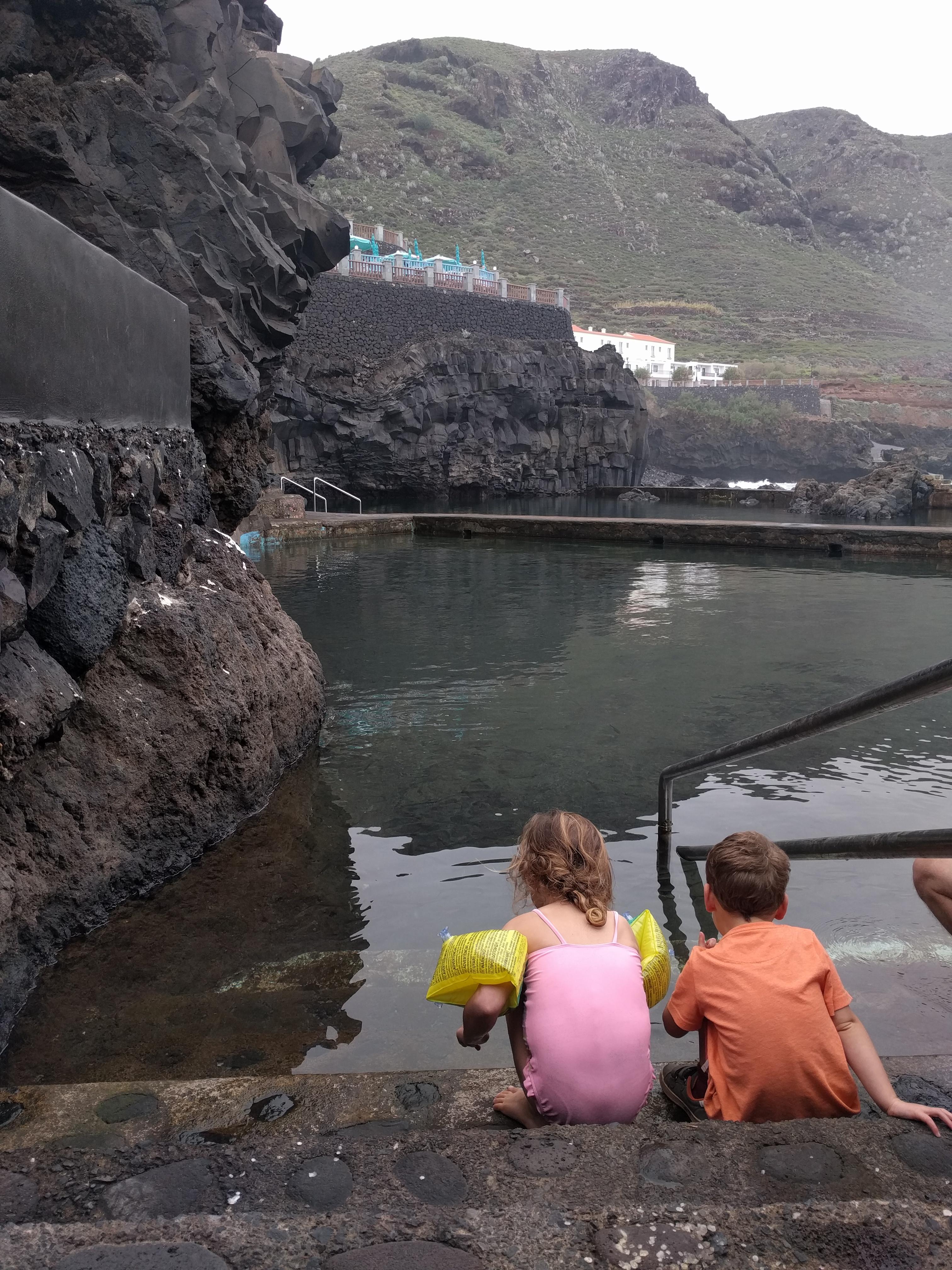 Natuurlijk zwembad La Palma