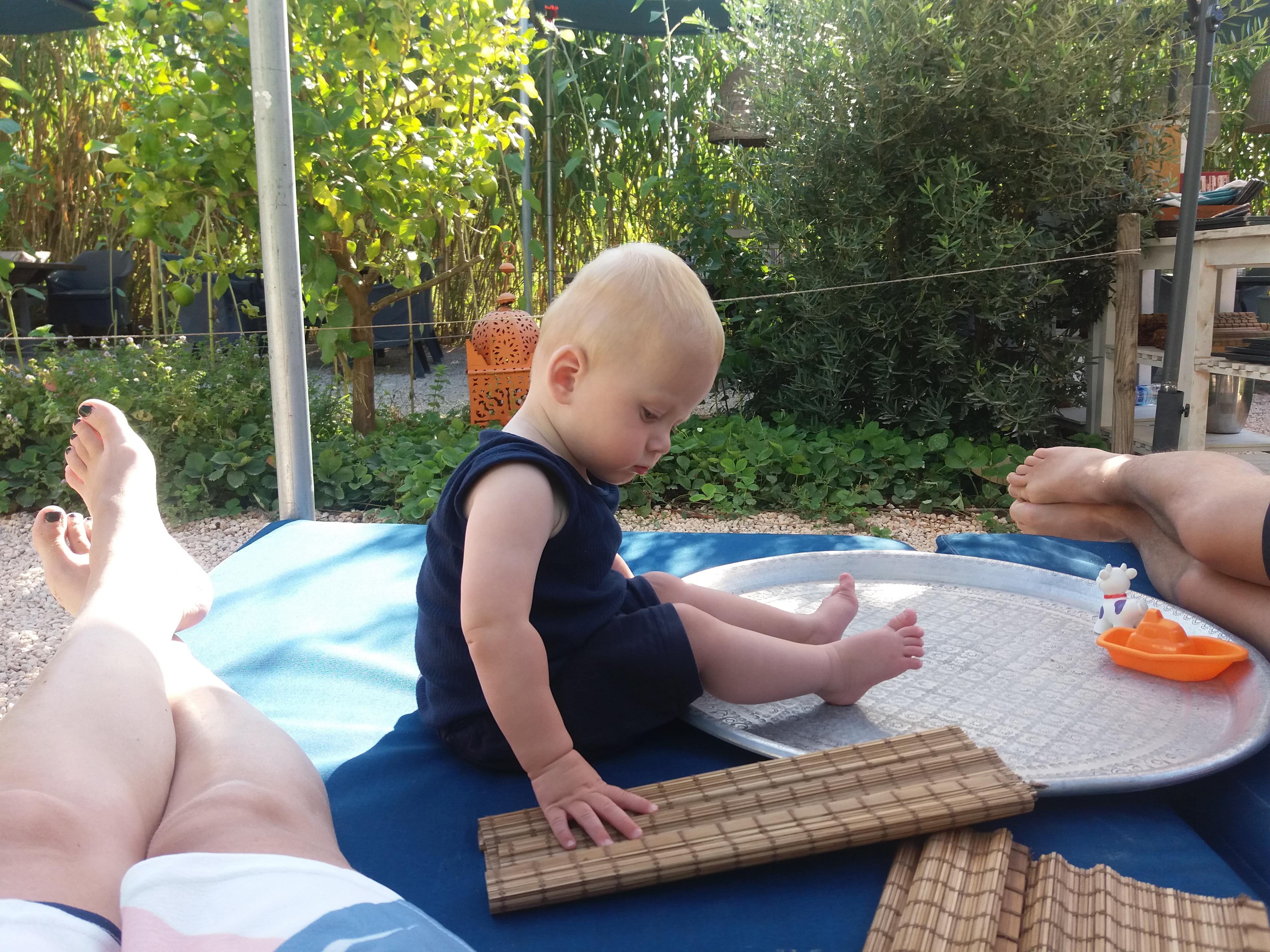 Ibiza met baby