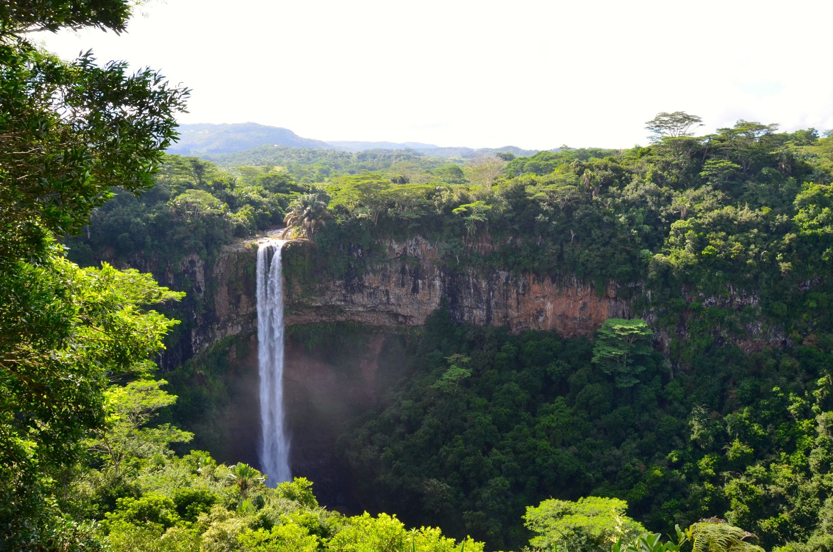 Chamarel waterval