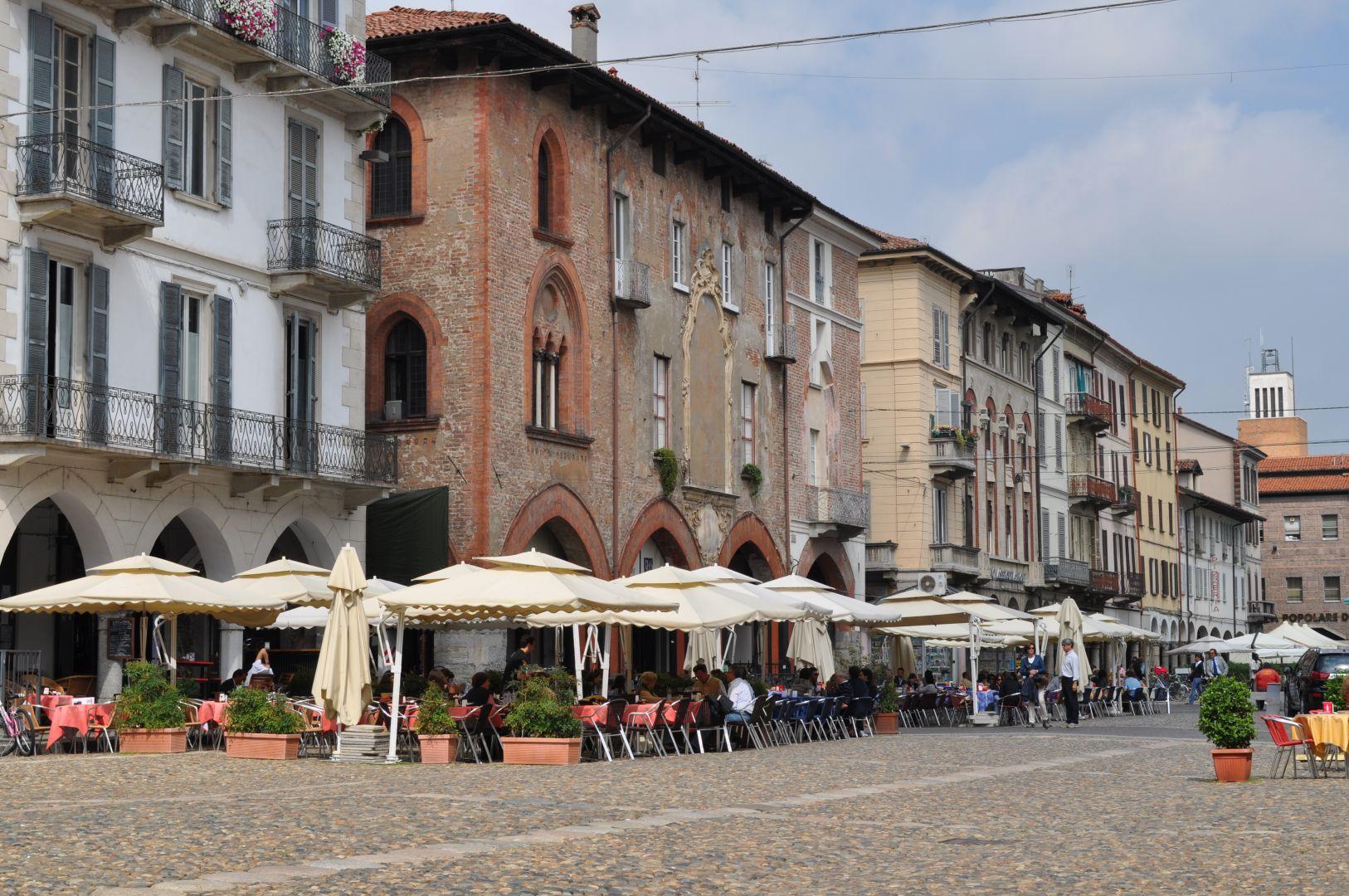 Pavia met kinderen