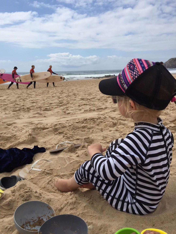 surfen Algarve met kids