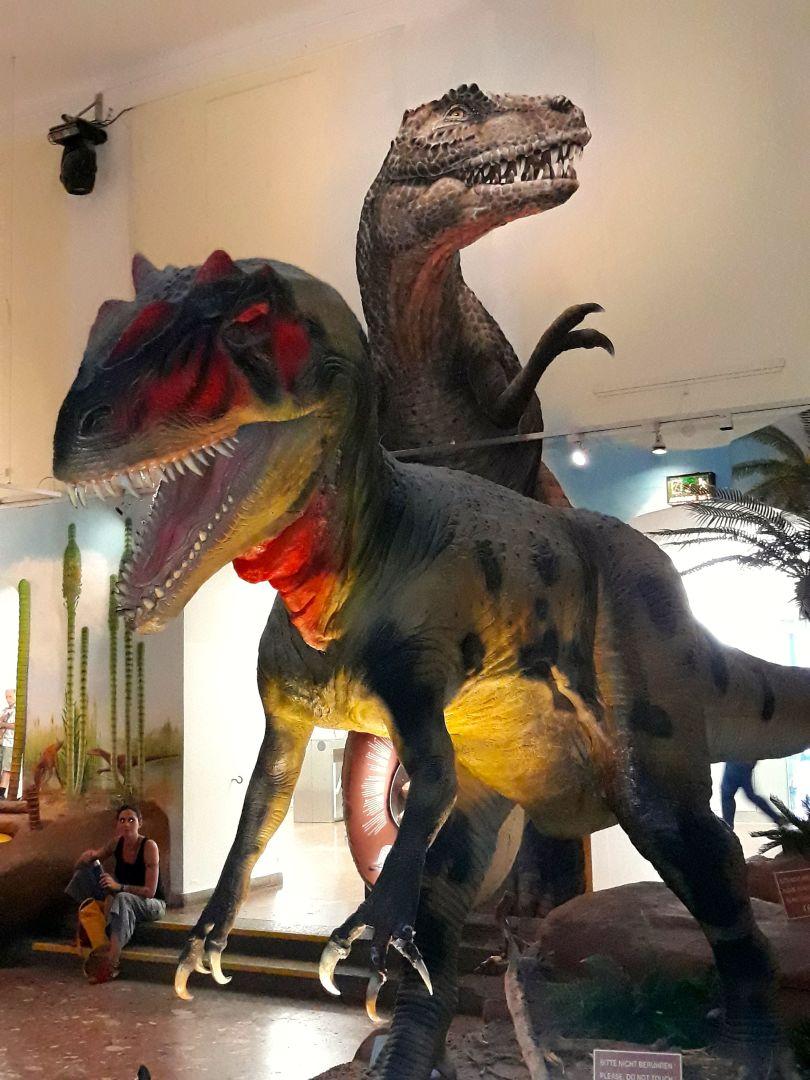Dino's in Haus der Natur