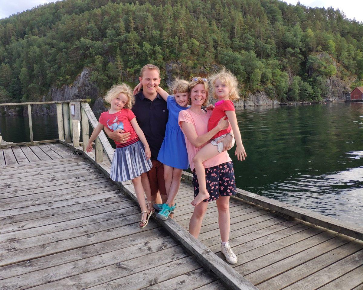 Noorwegen met gezin