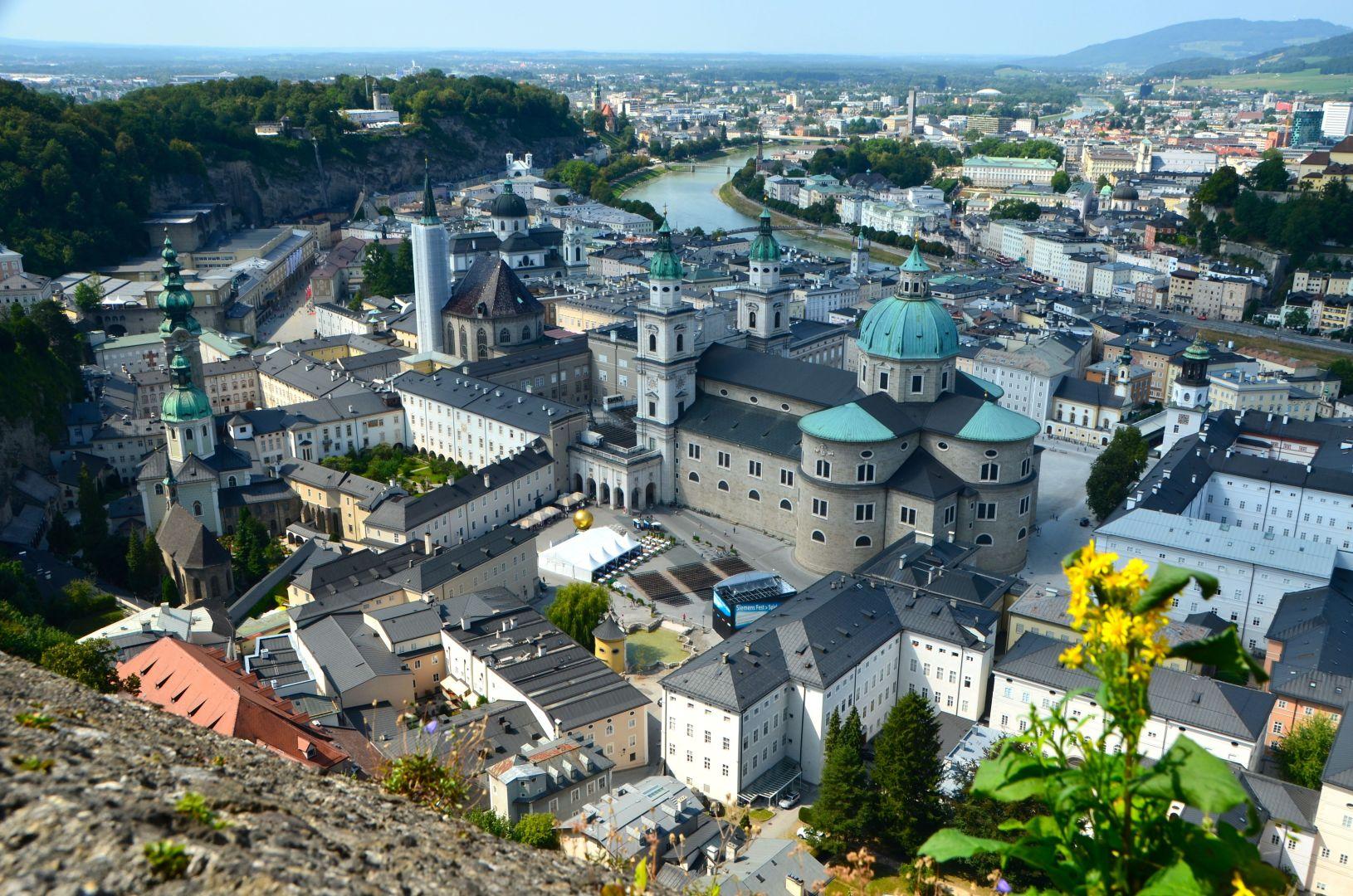 Salzburg vanaf Hohensalzburg