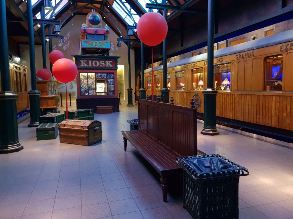 spoorwegmuseum met kind