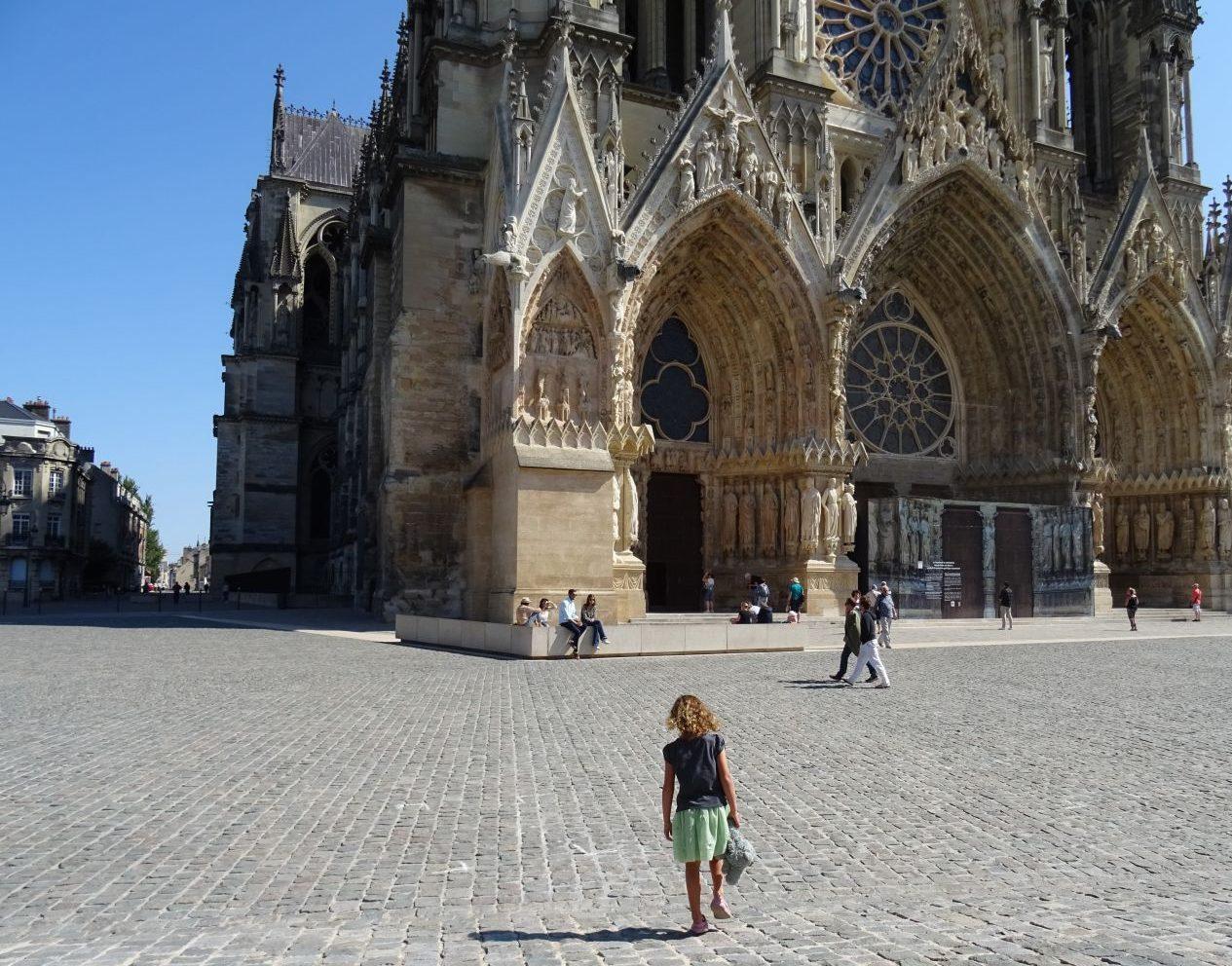 Reims met kind bezienswaardigheden