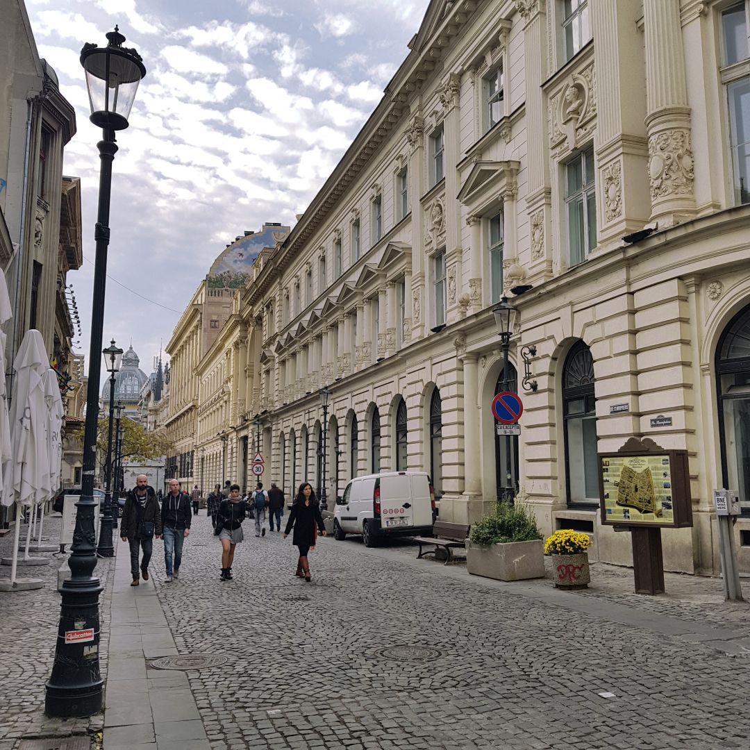 stedentrip Boekarest