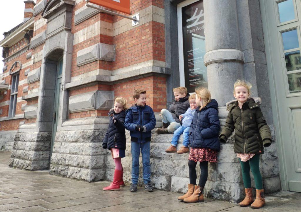 Train World met kinderen