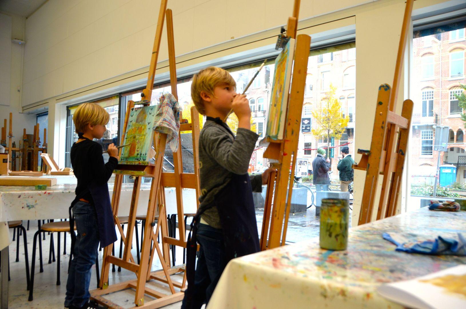 Kinderworkshop Van Gogh