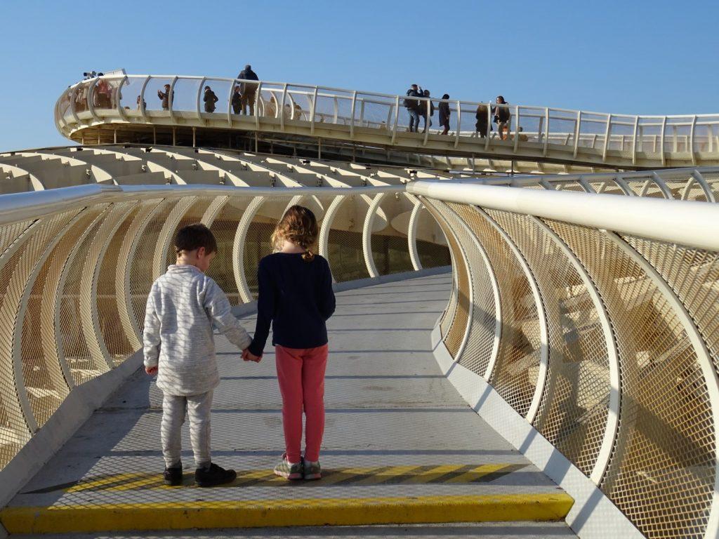wandelen door Sevilla