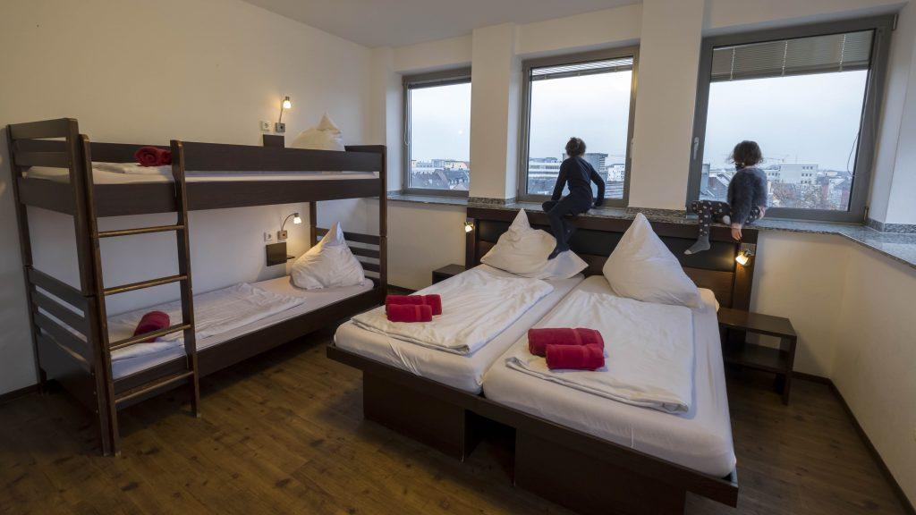 Familiekamer in Hostel Köln