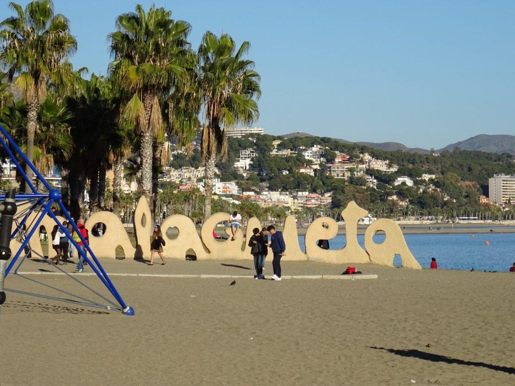 Malaga kindvriendelijk strand