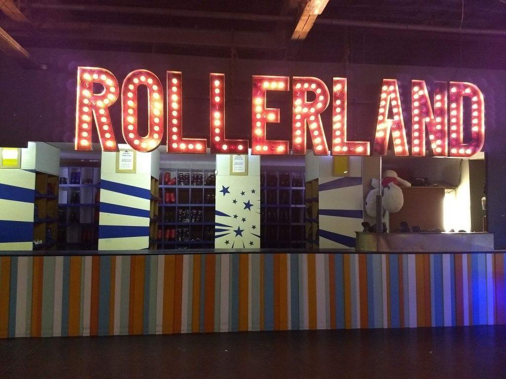 Rollerland met kinderen Aalst