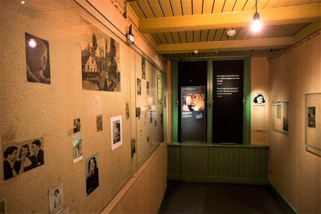 Anne Frank Huis met kinderen