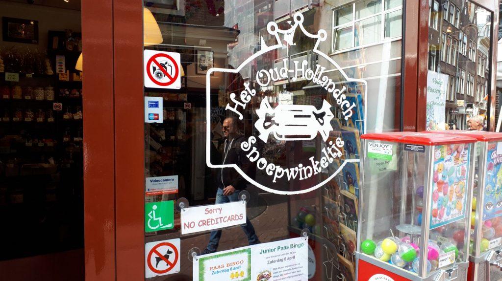 Snoepwinkeltje Amsterdam