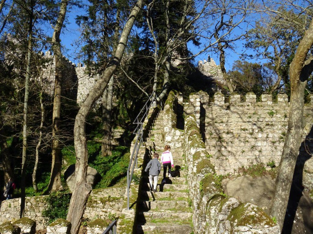 kasteel Mouros Sintra