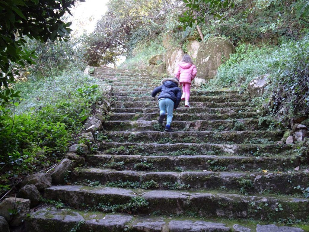 wandelen door Sintra met kinderen
