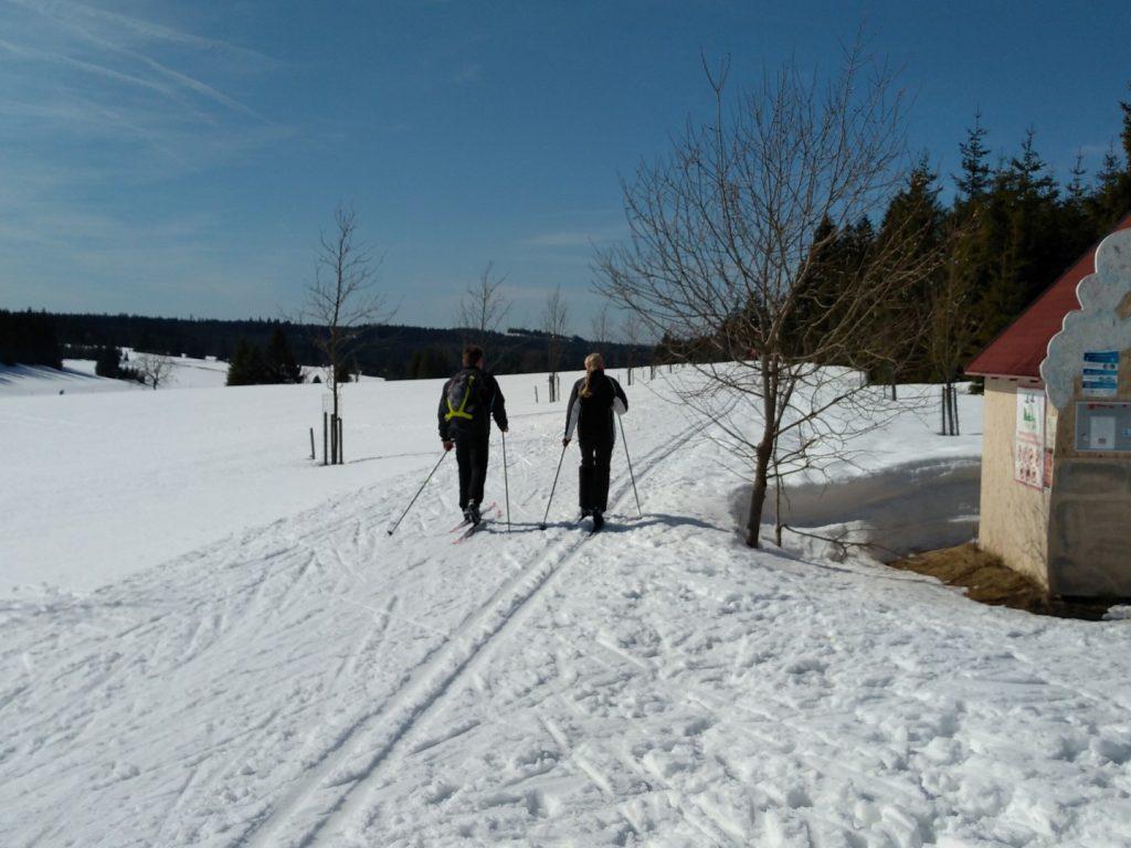skiën in Klinovec