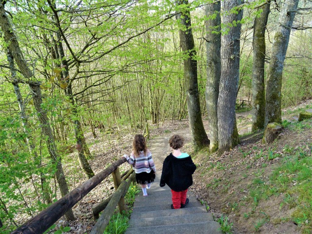 Eifel met kinderen