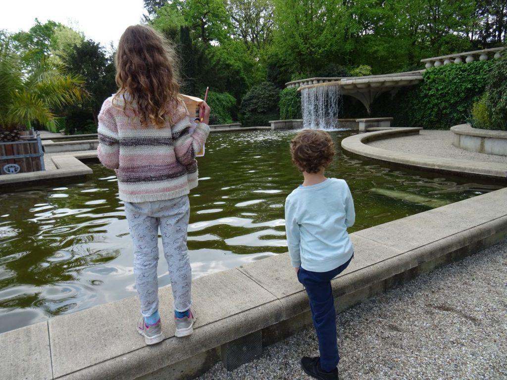 kasteeltuinen Arcen met kinderen bezoeken