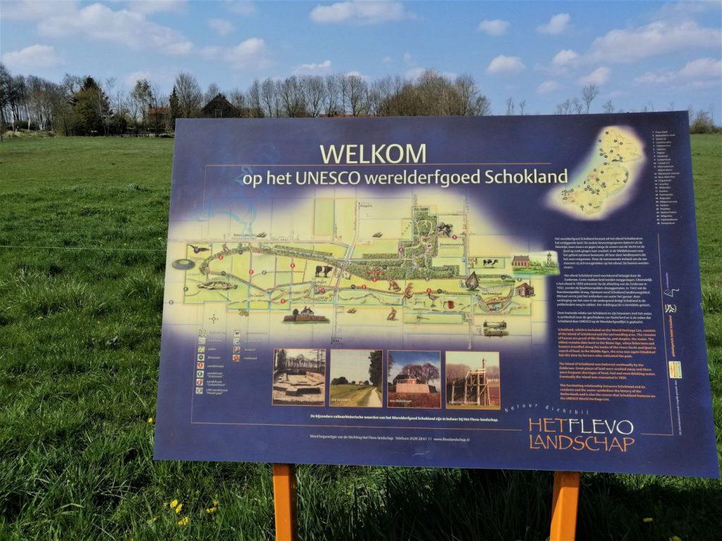 kaart Zuiderzee
