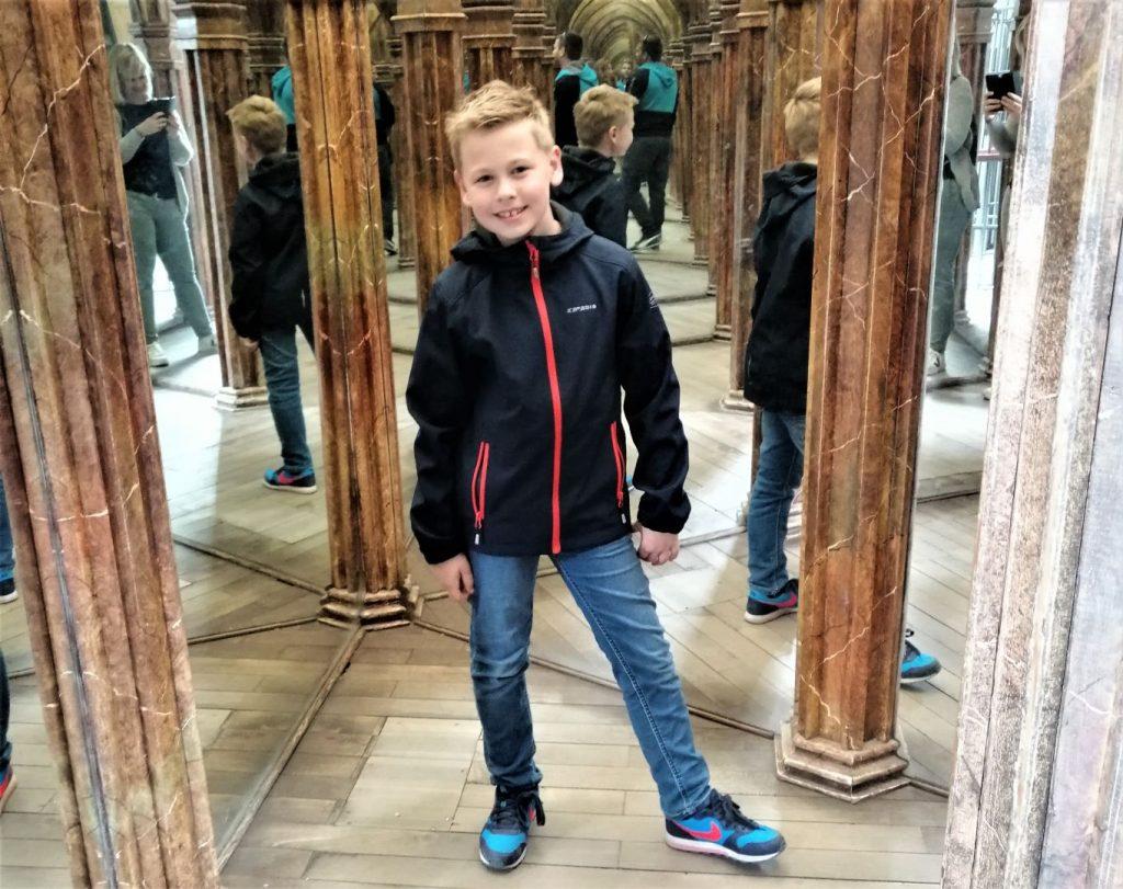 spiegeldoolhof Praag