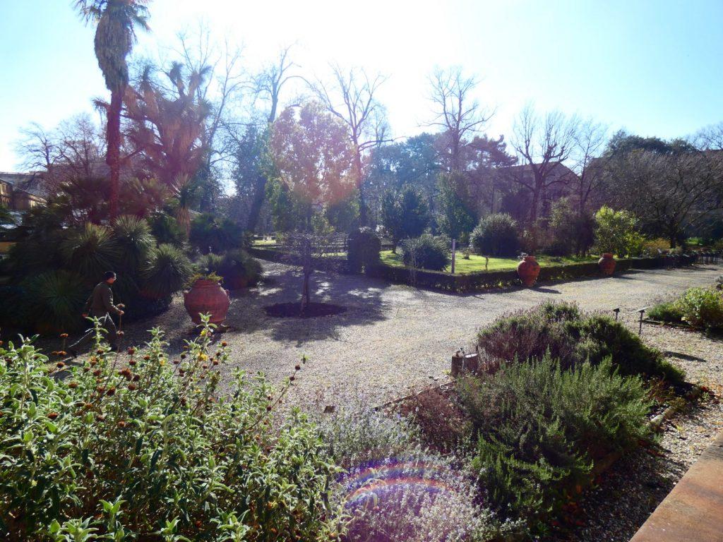 botanische tuin Florence