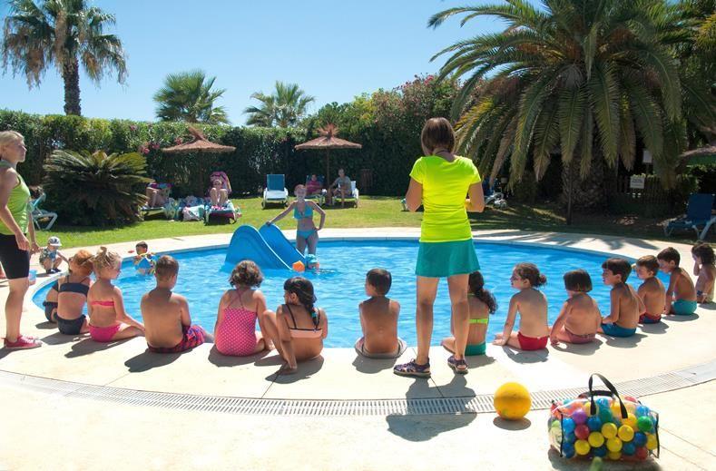 gezinsvakantie in de zomer Andalusië