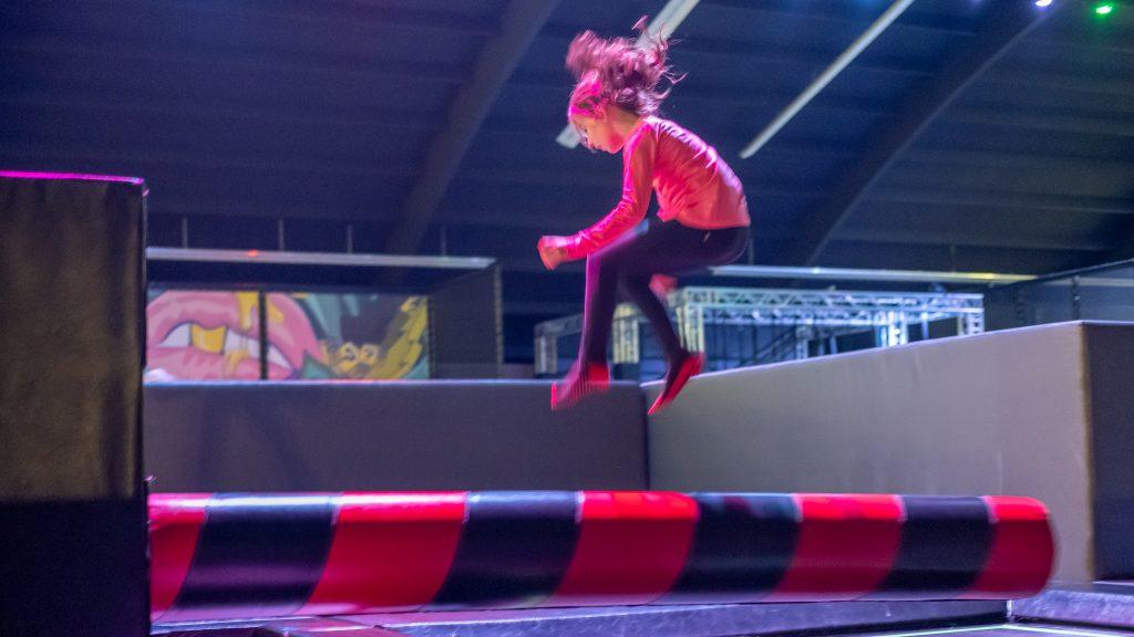 Jump Carrousel bij Street Jump Haarlem met kinderen
