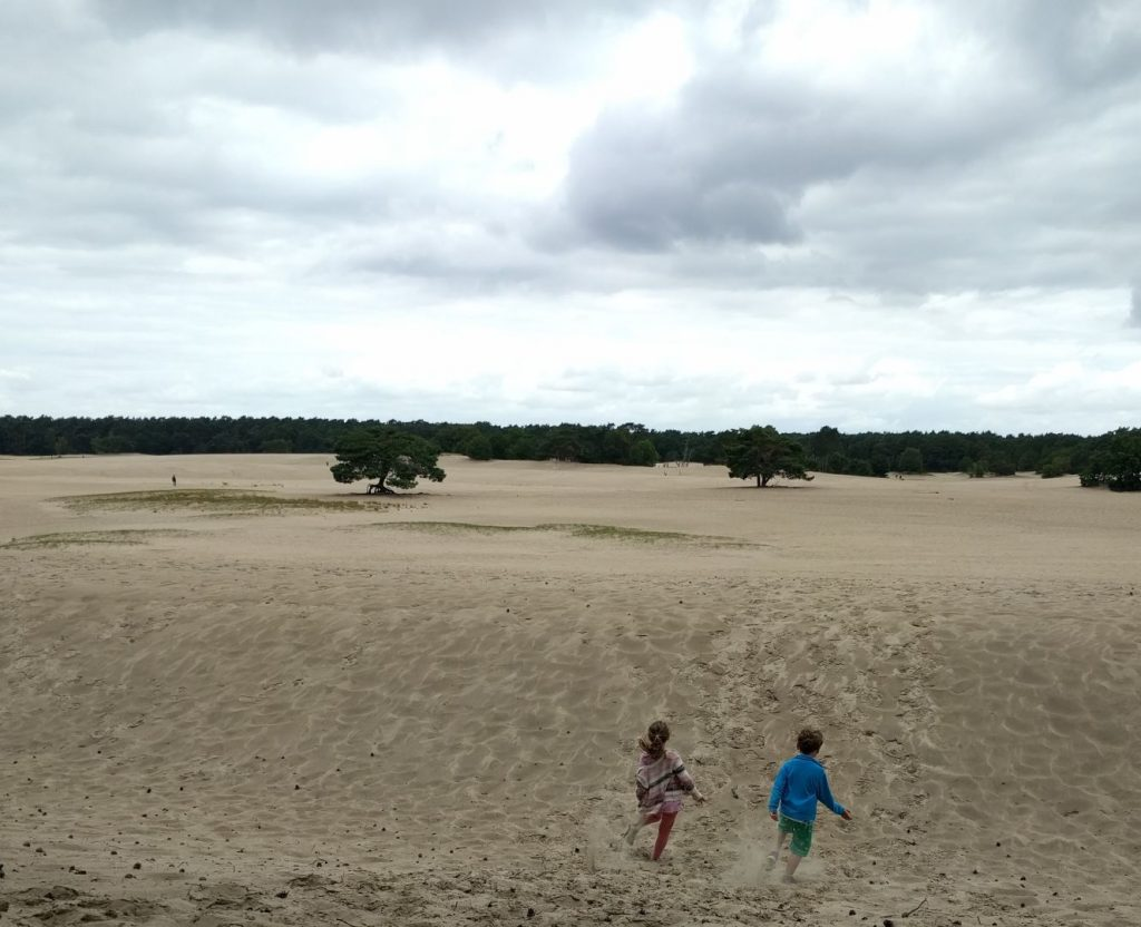 wandelen kinderen Nederland