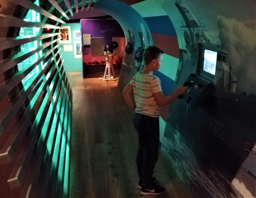 Marinemuseum met kinderen